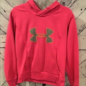 Under Armour Hot Pink Semi-fitted Hoodie LNC